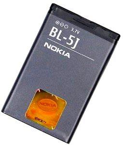 Nokia X6 (BL-5J) 1320mAh Li-ion 4.9Wh, оригинал
