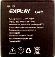 Explay (Golf) 1600mAh Li-ion, оригинал