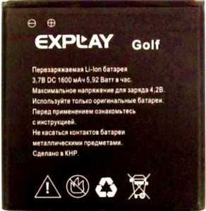 Explay (Golf) 1600mAh Li-ion, оригинал
