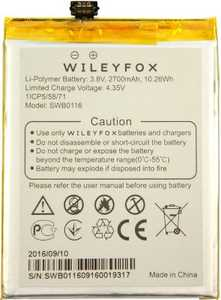 Wileyfox Swift 2 (SWB0116) 2700mAh Li-polymer, оригинал