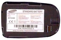 Samsung X660 (BST5028BE) 800mAh Li-ion, оригинал