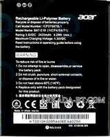 Acer Z530 (BAT-E10) 2420mAh Li-Polymer, оригинал