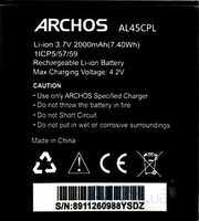 Archos 45c Platinum (AL45CPL) 2000mAh Li-ion, оригинал