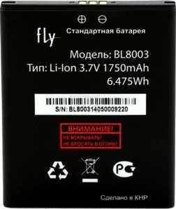 Fly IQ4491 (BL8003) 1800mAh Li-ion, оригинал