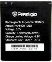 Prestigio 5400 (PAP5400DUO) 1700mAh Li-polymer, оригинал