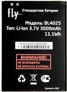 Fly IQ4411 (BL4025) 3000mAh Li-ion, оригинал