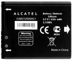 Alcatel OT 880 (CAB3120000C1) 850mAh Li-ion, оригинал