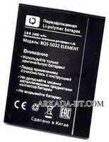 BQ (BQS-5032) 2400mAh Li-polymer, оригинал