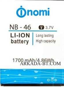 Nomi i451 (NB-46) 1700mAh Li-ion, оригинал