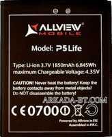 Allview (A5 Life) 1850mAh Li-ion, оригинал
