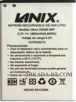 Lanix (X500B-BAT) 1800mAh Li-ion, оригинал