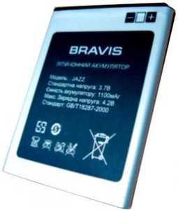 Bravis (JAZZ) 1100mAh Li-ion, оригинал