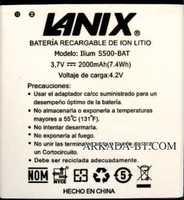 Lanix (S500-BAT) 2000mAh Li-ion, оригинал