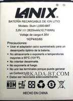 Lanix (L1000-BAT) 2820mAh Li-ion, оригинал