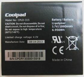 Coolpad (CPLD-315) 1880mAh Li-polymer, оригинал