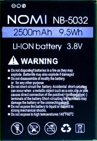 Nomi i5032 (NB-5032) 2500mAh Li-ion, оригинал