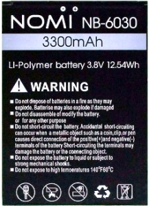 Nomi i6030 Note X (NB-6030) 3300mAh Li-Polymer, оригинал
