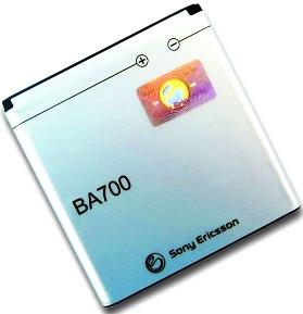 Sony Ericsson BA700 (1237-5355) 1500mAh Li-Polymer 5.6Wh, оригинал