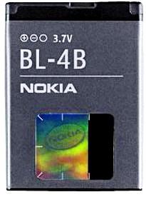 Nokia 6111 (BL-4B) 700mAh Li-ion 2.6Wh, оригинал