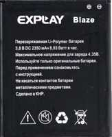 Explay (Blaze) 2350mAh Li-polymer, оригинал