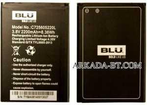 Blu (C725605220L) 2200mAh Li-ion, оригинал
