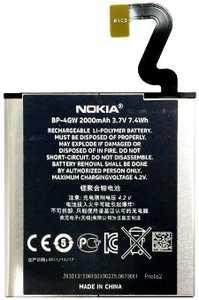 Nokia Lumia 920 (BP-4GW) 2000mAh Li-Polymer 7.4Wh, оригинал