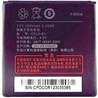 Coolpad (CPLD-91) 1500mAh Li-ion, оригинал