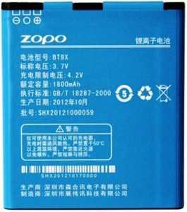Zopo ZP300 (BT9X) 1800mAh Li-ion, оригинал