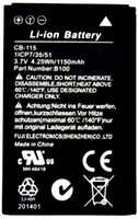 Caterpillar CAT B100 (CB-115) 1150mAh Li-ion, оригинал