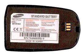 Samsung Е730i (BST3578KE) 750mAh li-ion, оригинал