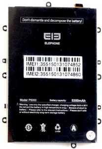 Elephone (P5000) 5350mAh Li-polymer, оригинал