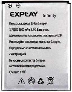 Explay (Infinity) 1600mAh Li-ion, оригинал