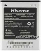 Hisense (LI38200) 2000mAh Li-ion, оригинал