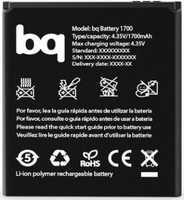 BQ (E4) 1700mAh Li-polymer, оригинал