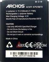 Archos 50 Titanium (AC50TI) 2100mAh Li-polymer, оригинал