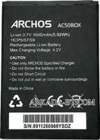 Archos 50b Oxygen (AC50BOX) 1600mAh Li-ion, оригинал