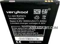 Verykool (Q506) 3000mAh Li-ion, оригинал