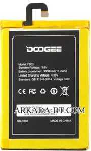 Doogee (Y200) 3000mAh Li-polymer, оригинал