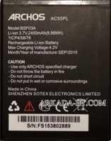 Archos 55 Platinum (AC55PL) 2400mAh Li-ion, оригинал