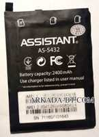 Assistant (AS-5432) 2400mAh Li-ion, оригинал