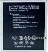 Vertex Impress (Fit) 1500mAh Li-ion, оригинал