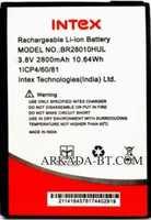Intex (BR28010HUL) 2800mAh Li-ion, оригинал
