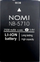 Nomi i5710 Infinity X1 (NB-5710) 2500mAh Li-ion, оригинал