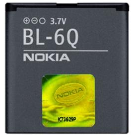 Nokia 6700 classic (BL-6Q) 970mAh Li-Ion 3.6Wh, оригинал