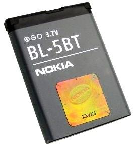 Nokia 2600 classic (BL-5BT) 870mAh Li-Ion 3.2Wh, оригинал