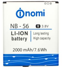 Nomi i503 (NB-56) 2000mAh Li-ion, оригинал
