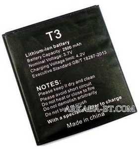VKworld (T3) 2500mAh Li-ion, оригинал