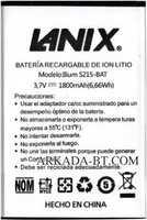 Lanix (S215-BAT) 1800mAh Li-ion, оригинал