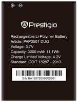 Prestigio 3501 (PAP3501DUO) 3000mAh Li-polymer, оригинал