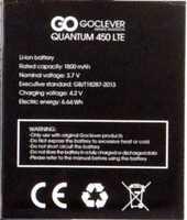 Goclever (Quantum 450) 1800mAh Li-polymer, оригинал